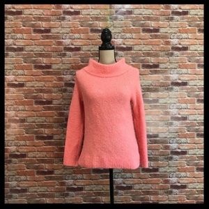 Anthro Moth Cowl Neck Sweater